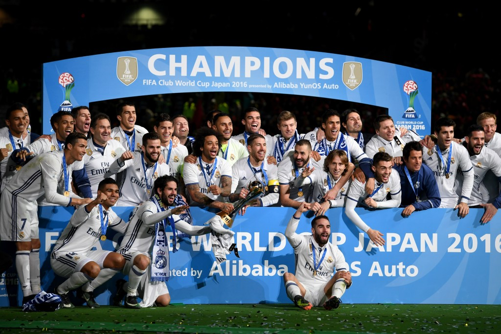 Real Madrid could make history again by defending their Club World Cup crown.