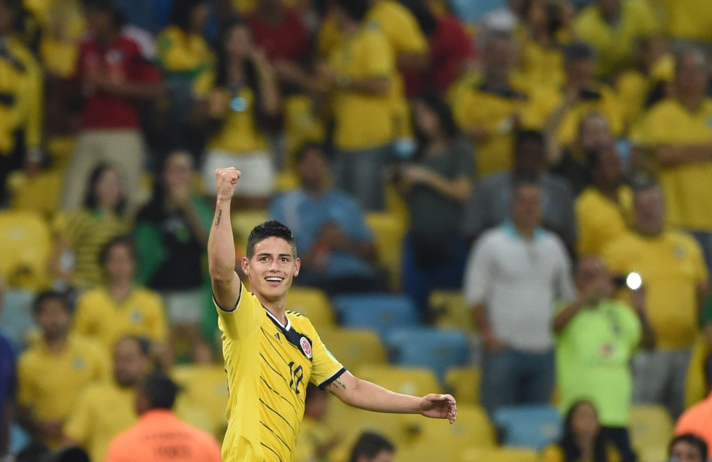 James Rodriguez announced himself to the world in the 2014 quarter-finals.