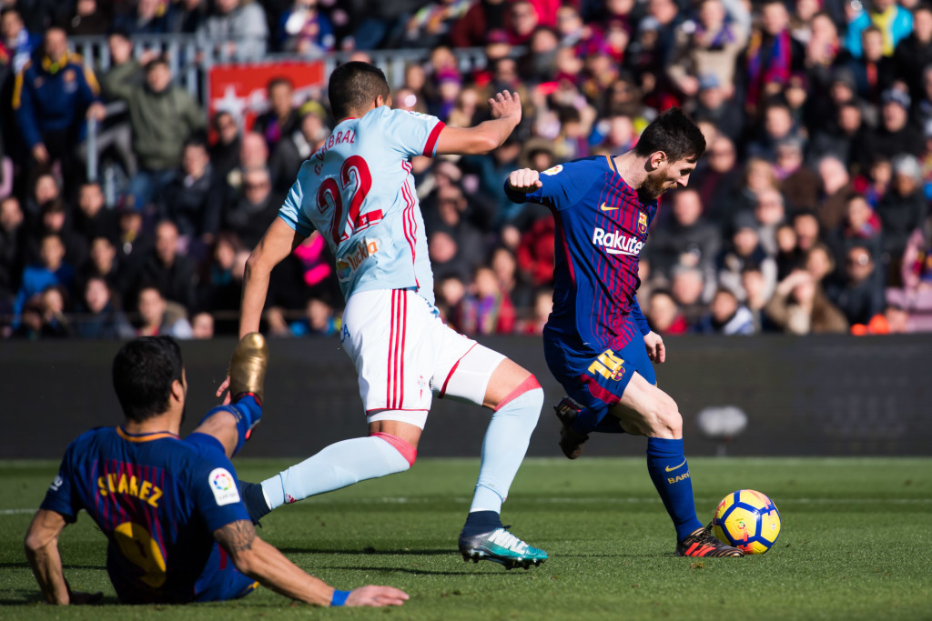 Lionel Messi yet again was Barcelona's standout performance.