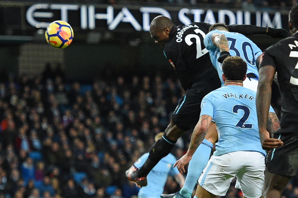 Angelo Ogbonna scored his first top-flight goal to give West Ham hope.