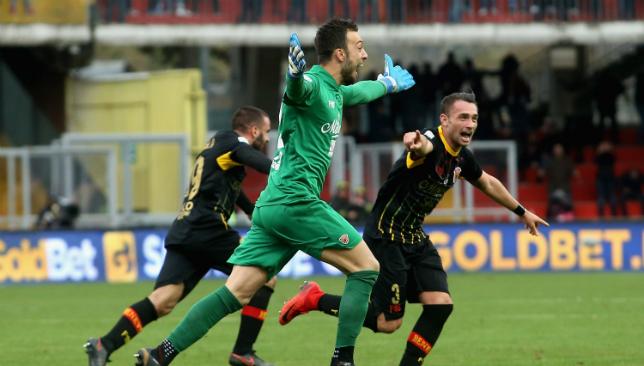 Benevento 2-2 AC Milan