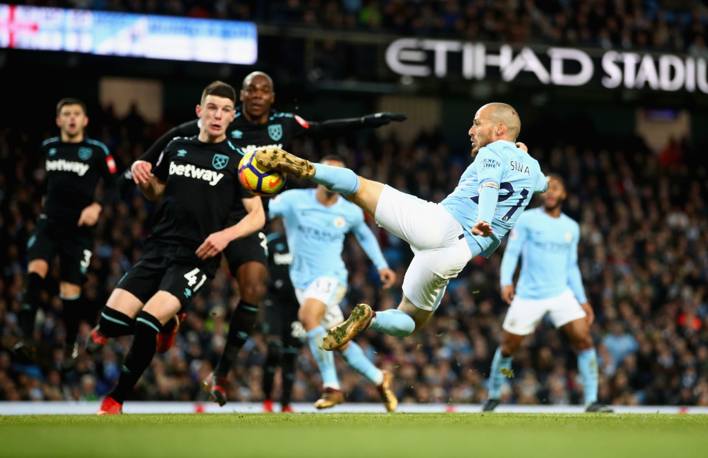 David Silva's moment of brilliance won the game for Man City.