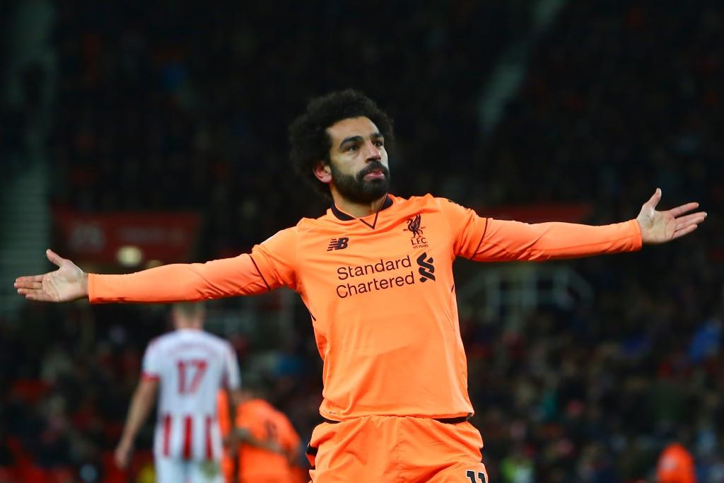 Mohamed Salah starred again against Stoke City.