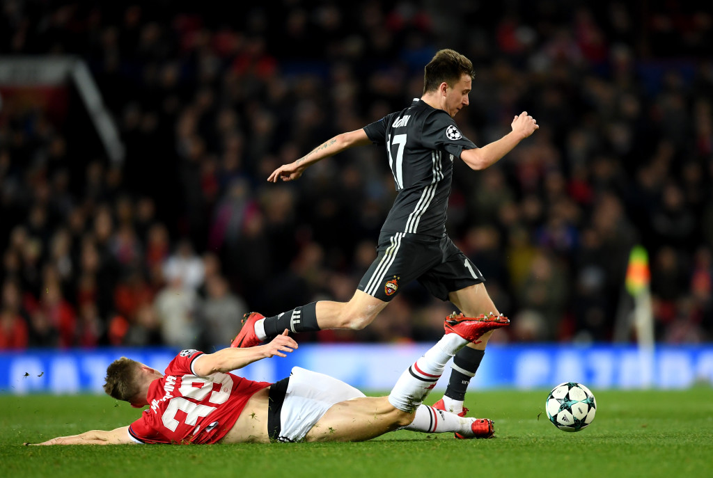 It wasn't the best of outings for 21-year-old Aleksandr Golovin.