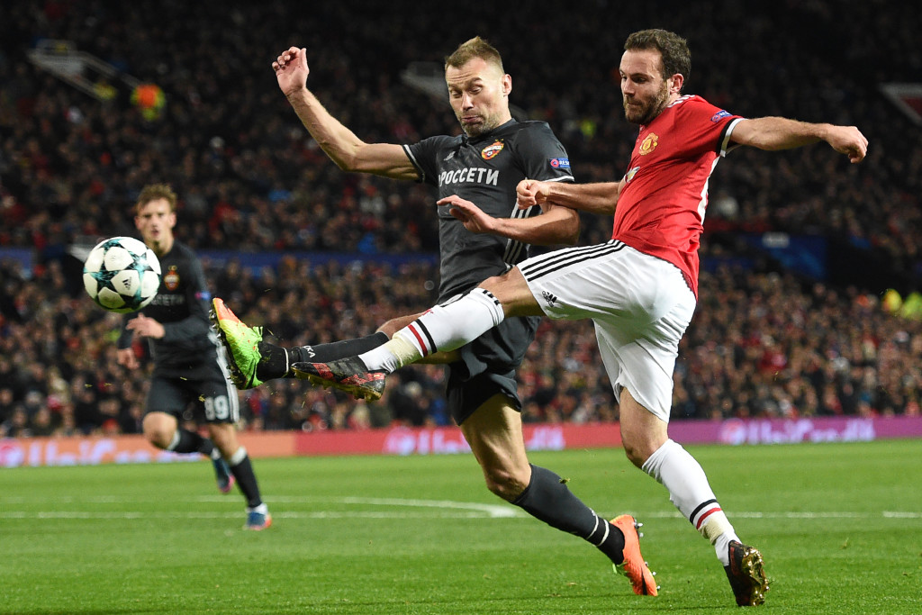 Juan Mata was United's best attacking player on the night.