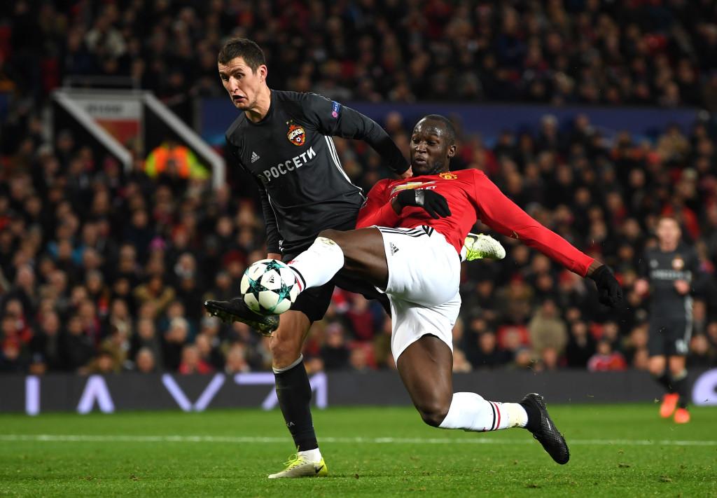 Lukaku scored with a neat finish to draw United level.