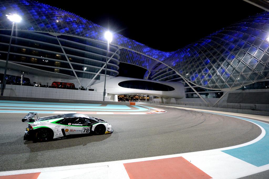 The Lamborghini Huracan at last year's Gulf 12-Hours.