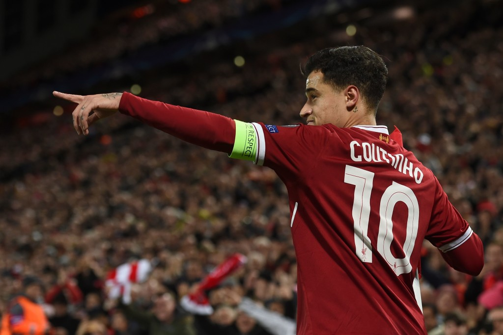Coutinho had one of his best games in a Liverpool shirt.