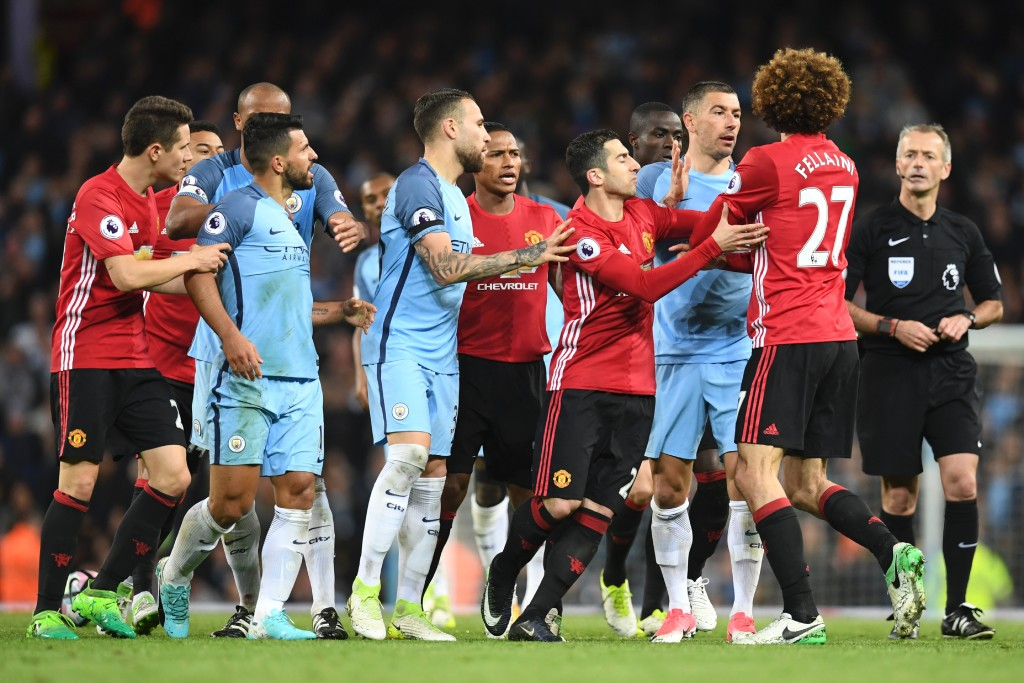 United and City played out an ill-tempered and inconsequential draw in April.