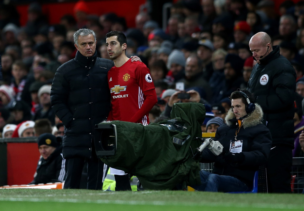 Is Mkhitaryan's time at Manchester United coming to an end?