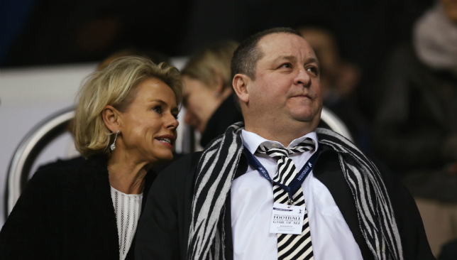 Mike Ashley has been an unpopular owner at Newcastle.