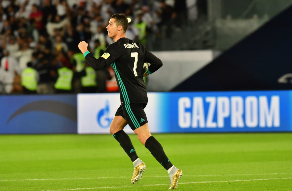 Cristiano Ronaldo - who else - scored Real Madrid's equaliser.
