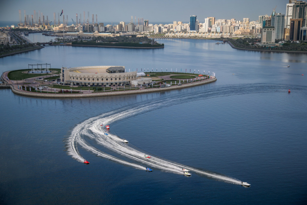 Sharjah provided a beautiful backdrop for the final race of the season.