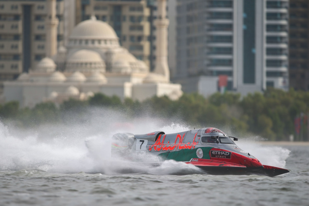 Rashed Al-Qemzi put in an impressive showing.