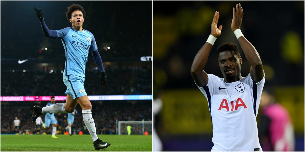 Sane vs Aurier has the makings of a fun, thrilling duel.
