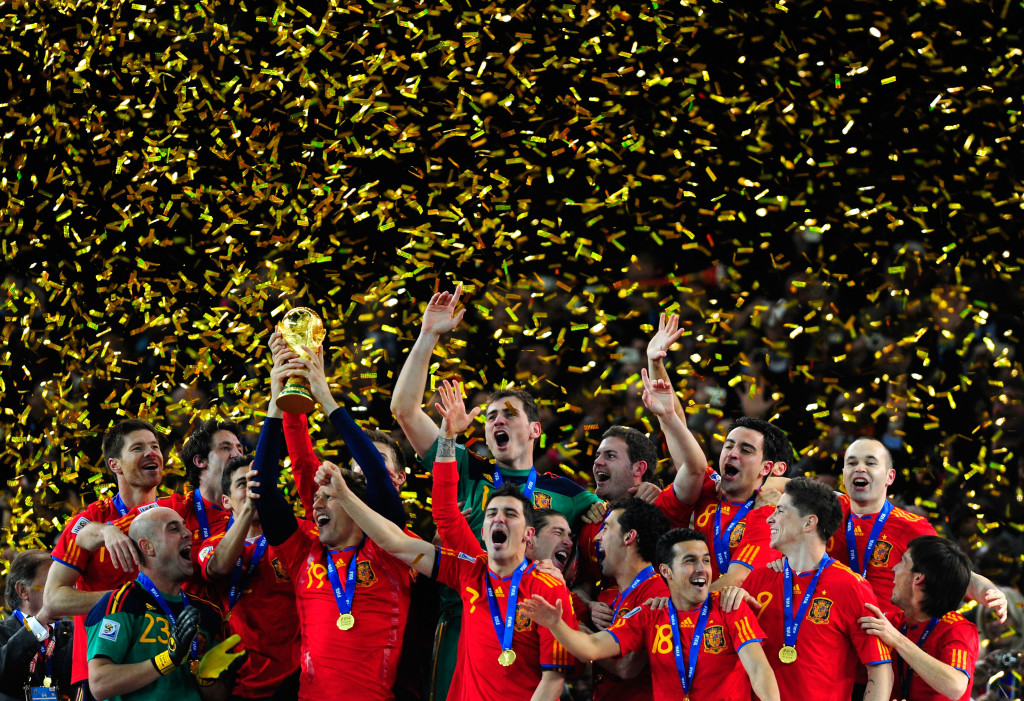 Spain won the 2010 World Cup, but could miss out on the 2018 edition altogether.