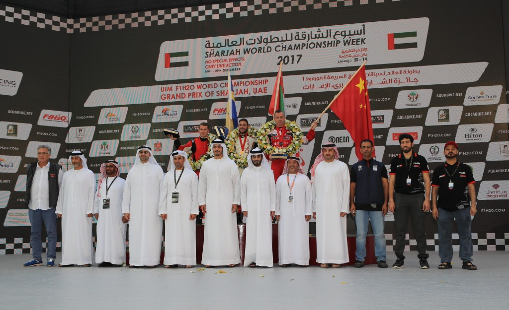 It was a triumphant moment for Team Abu Dhabi.