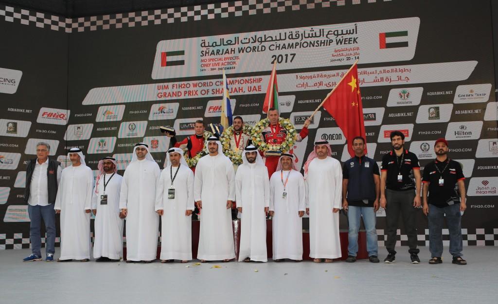 It was a triumphant moment for Team Abu Dhabi.