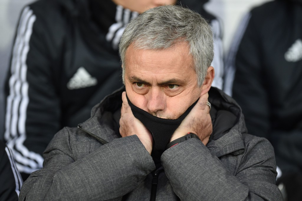 It may have been a subdued Mourinho and United, but they still won.