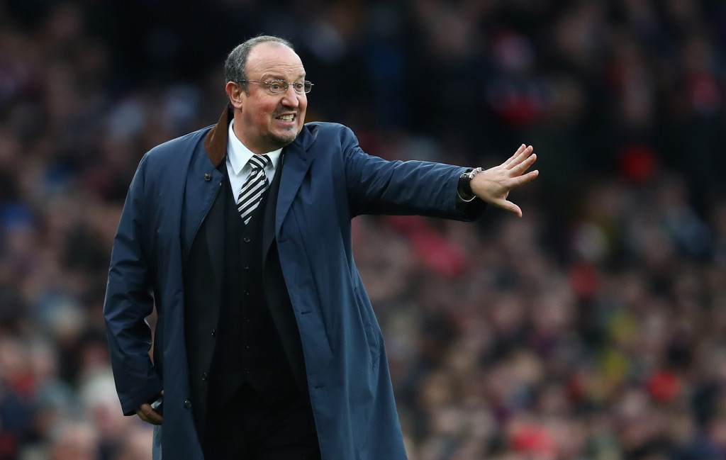 The Emirates Stadium hasn't been a happy hunting ground for Benitez.