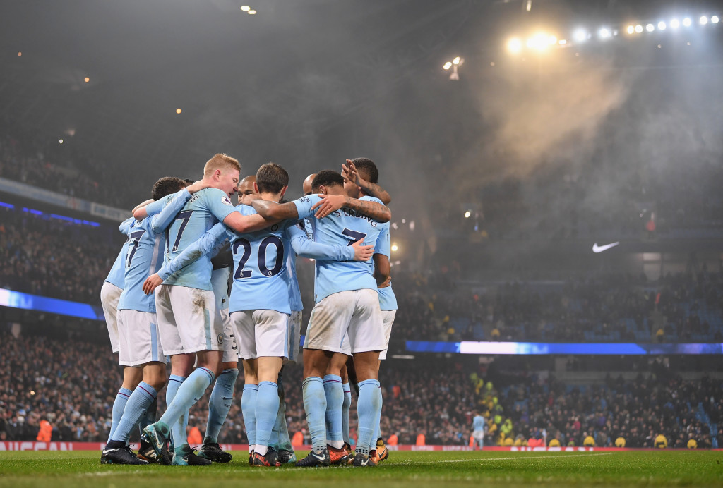 City look unstoppable at the moment.