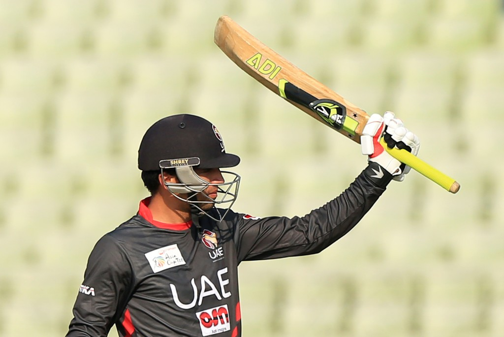 Rohan Mustafa has been one of the bright spots for UAE cricket this year.