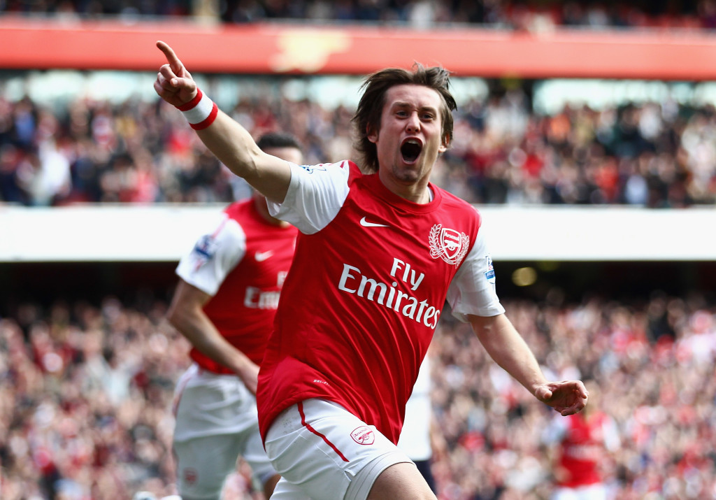 Injuries prevented Rosicky from truly leaving his stamp on the Premier League.
