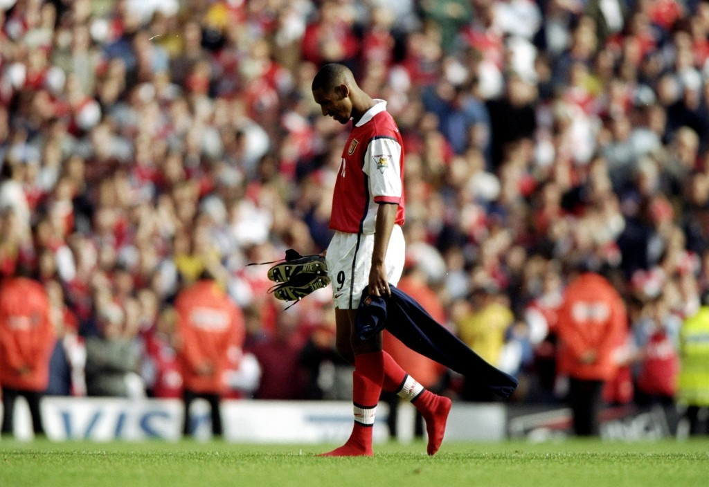 Anelka's reputation as 'Le Sulk' started during his Arsenal days.