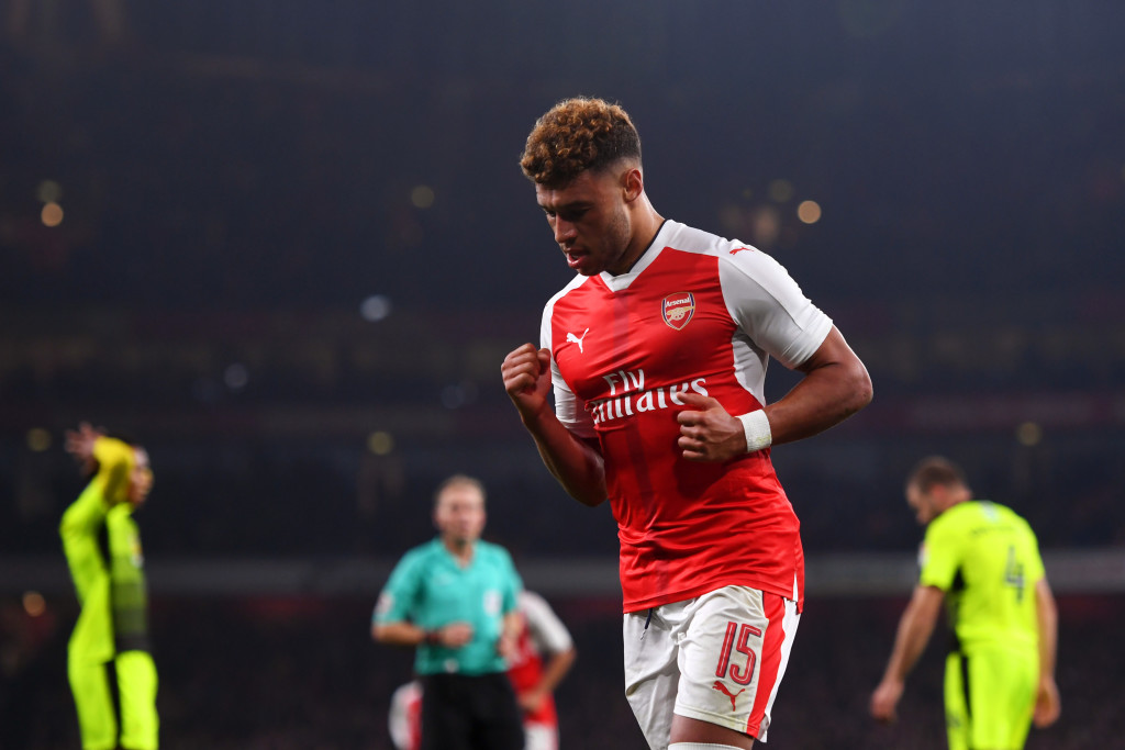 Oxlade-Chamberlain spent six seasons at Arsenal before joining Liverpool this summer.