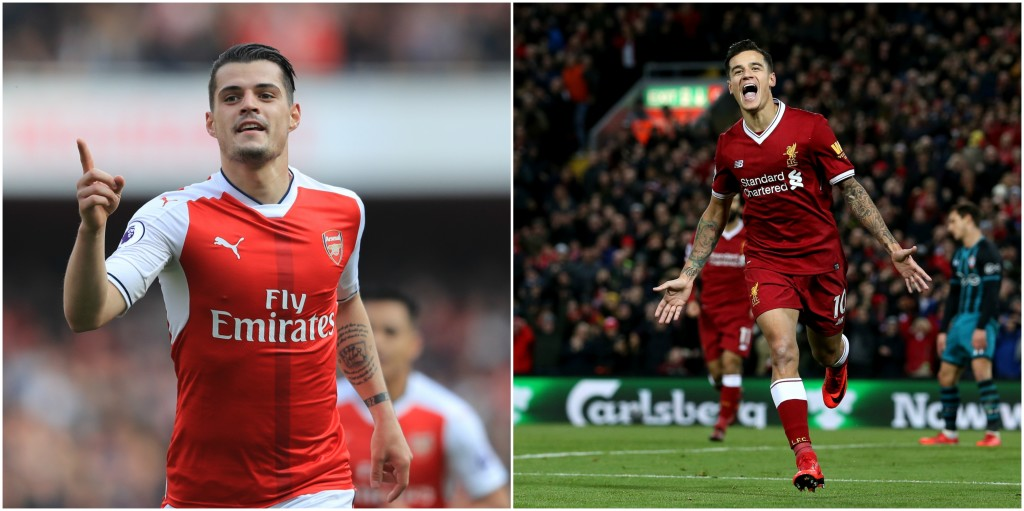 Xhaka needs to show he has the discipline to deal with a player like Coutinho.