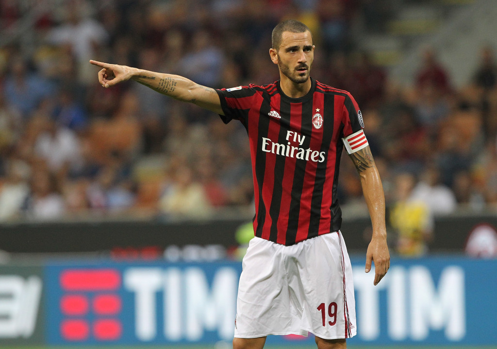 Bonucci's blockbuster move to AC Milan hasn't quite worked out.