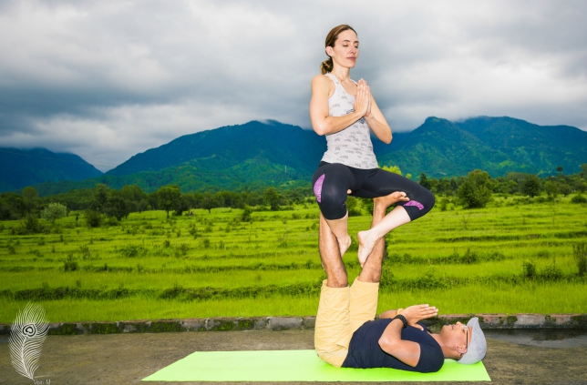 AcroYoga is just a beautiful union of community, play and self-discovery