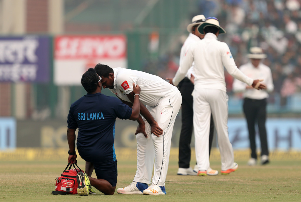 Sri Lanka's bowlers coughing up on the field wasn't a pretty sight.