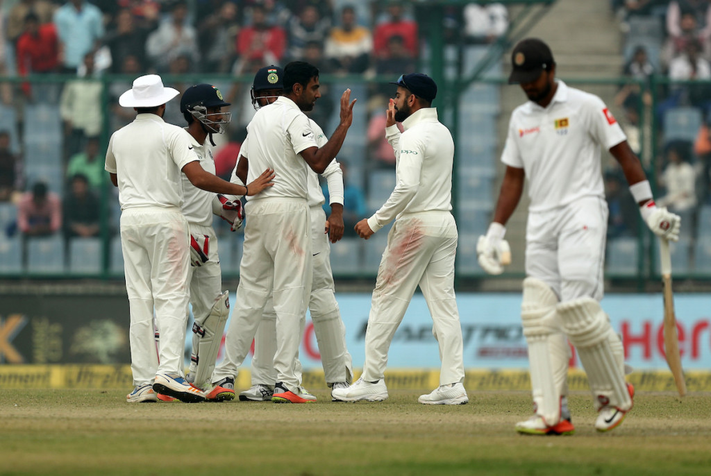 It was Ashwin's late strikes which dented Sri Lanka's charge.