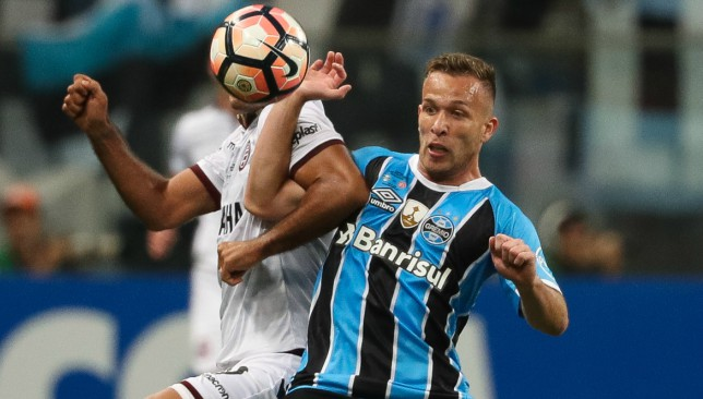 Midfield maestro: Arthur is a much talked about talent.