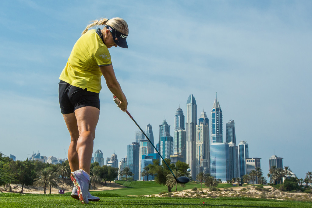 England's Charley Hull hit a bogey-free round of 67 on day three.