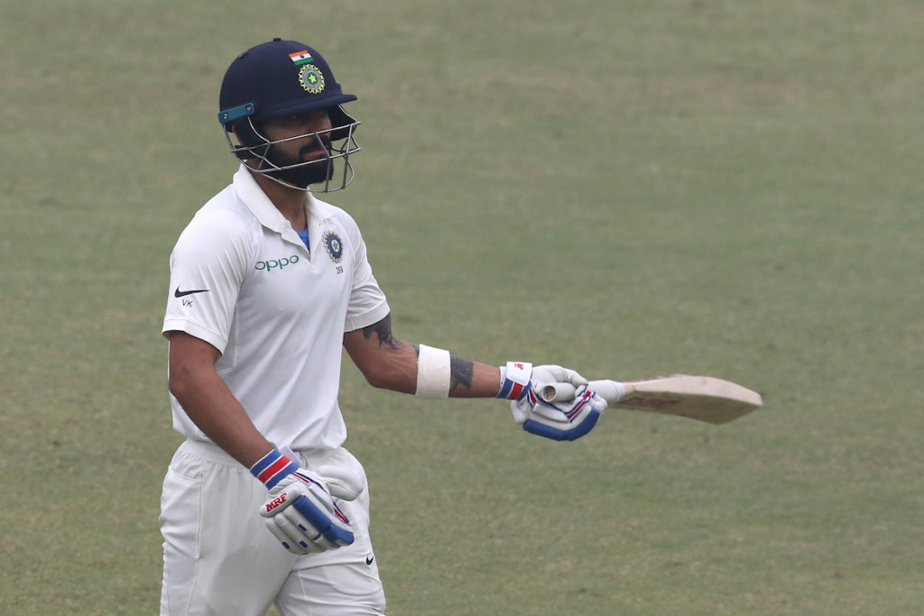 Kohli has scored 610 runs in five innings during the series.
