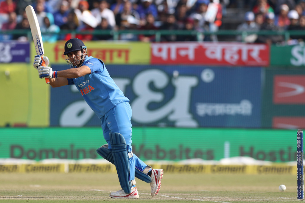 MS Dhoni was the lone ranger for India on Sunday.