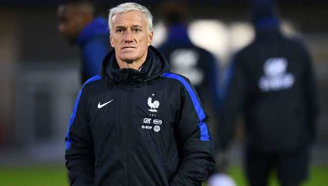 Making no early predictions for his team: Didier Deschamps