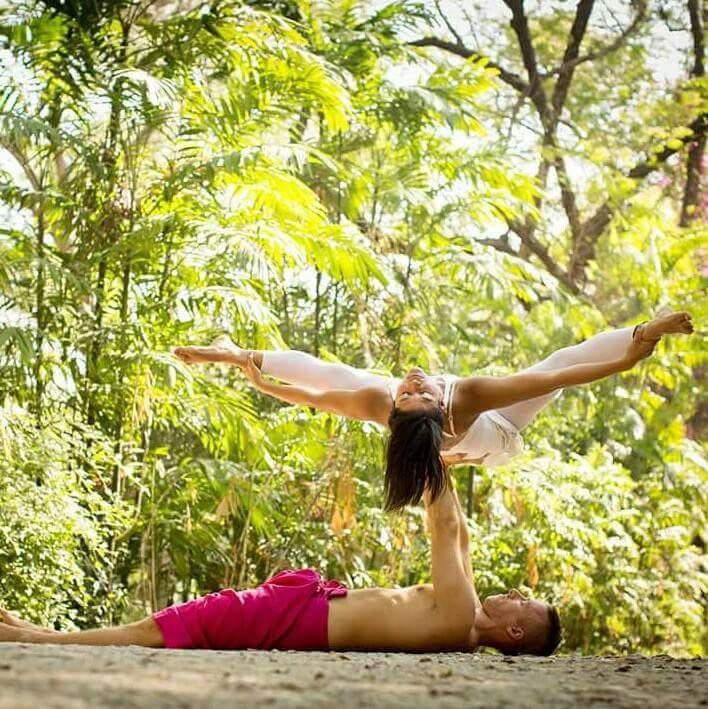 AcroYoga can help you improve your relationships.