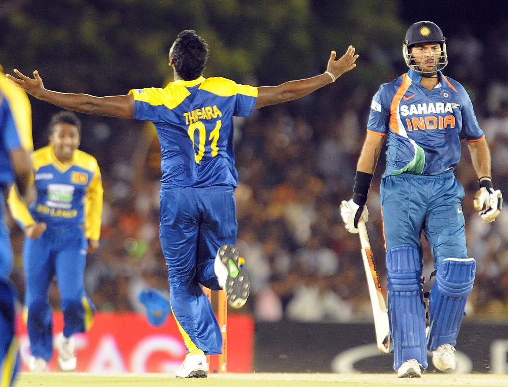 Perera tore through the Indian top-order with a five-wicket haul.