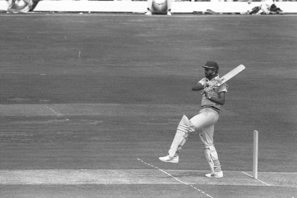 Mohinder Amarnath was the lone Indian batsman to put up a fight.