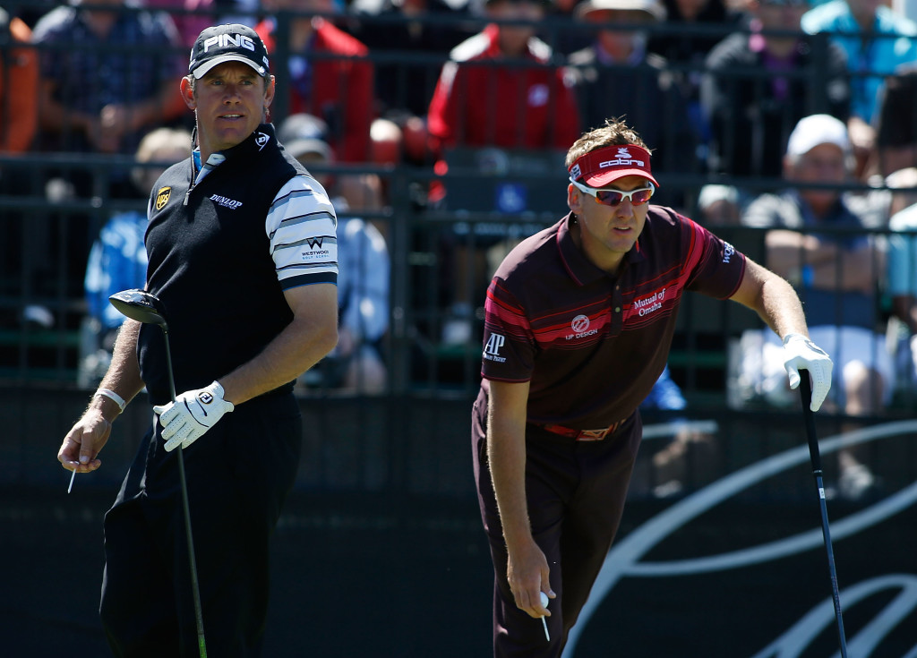 Clarke spoke about Poulter's and Westwood's Ryder Cup chances.