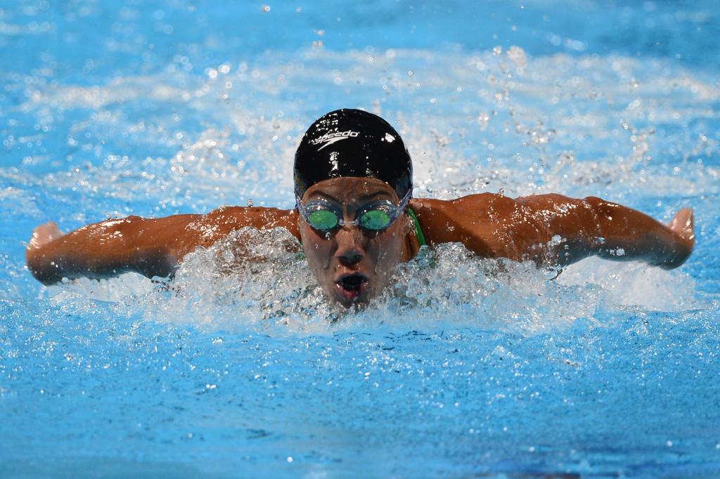 Farida Osman has been creating waves in the swimming world.