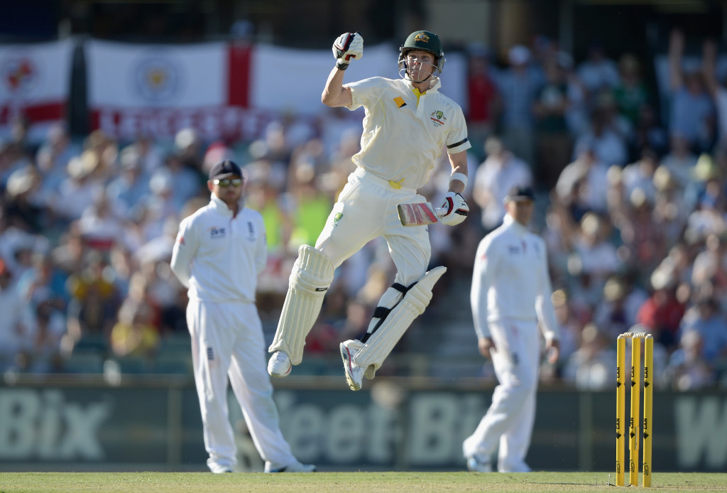 Smith had changed his technique in the Perth Ashes Test of 2013.