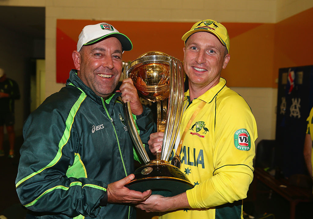 Lehmann led Australia to a World Cup triumph at home in 2015.