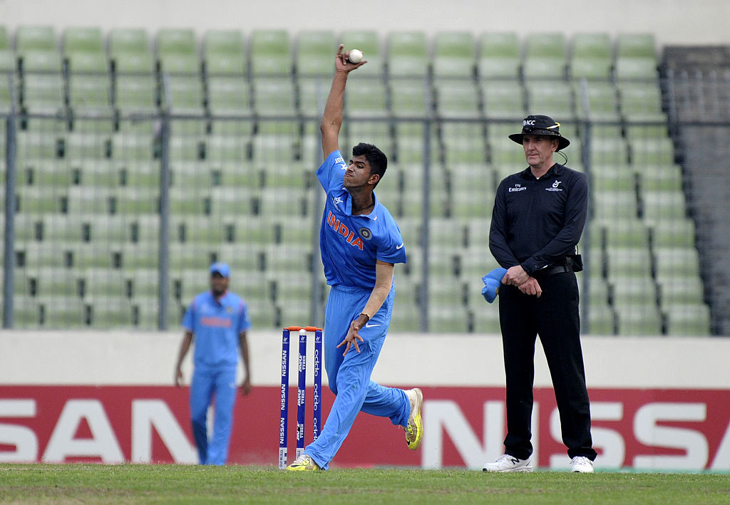 Young all-rounder Washington Sundar was given a maiden call-up.