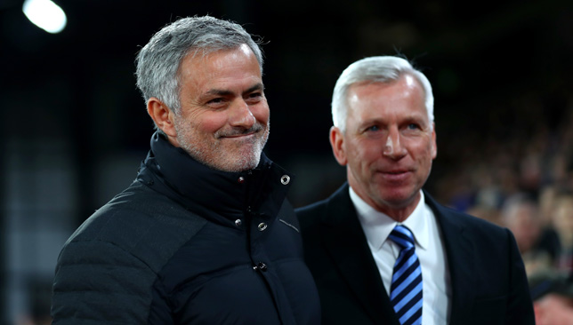 Alan Pardew: 'Jose Mourinho criticism is harsh'