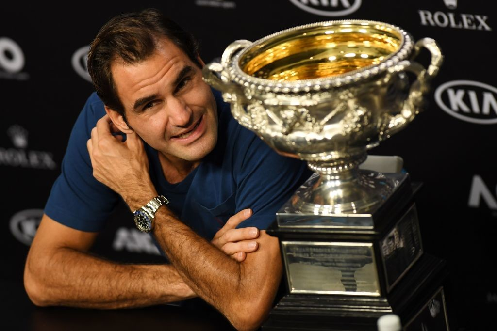 Federer won the Australian Open and the Wimbledown crown in 2017.