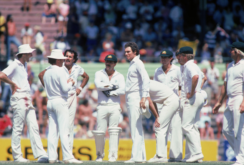 Greg Chappell's inspired bowling performance blew away India.